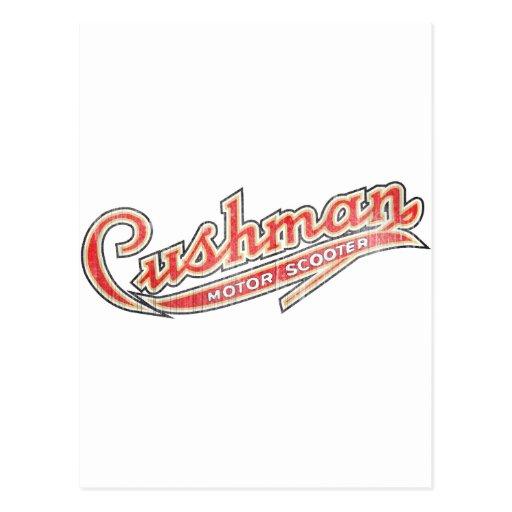 Vintage Cushman Designs Post Card