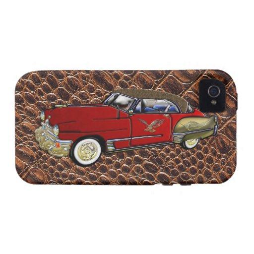 Vintage Custom 1949 Cadillac Coupe de Ville Case-Mate iPhone 4 Cover