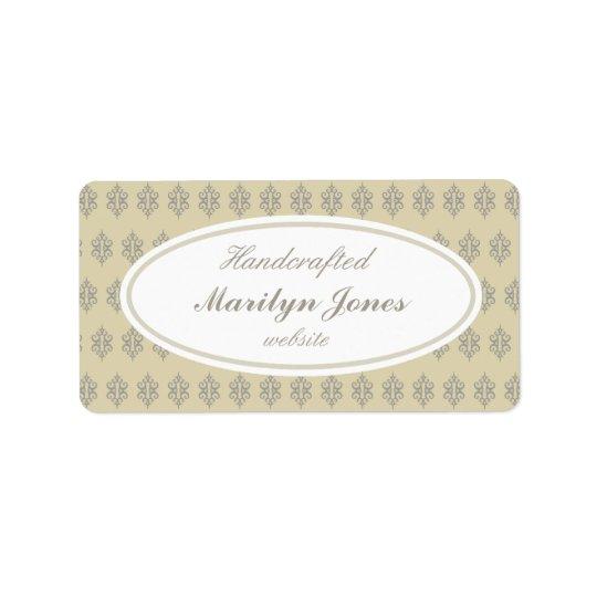 Vintage Custom Business Labels