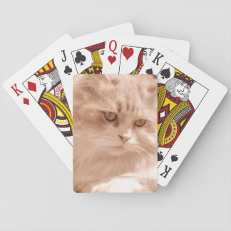 Vintage Cute Cat Kitten, Standard Playing Cards