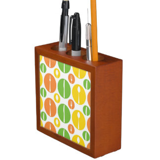 Vintage Cutlery Pattern Desk Organiser