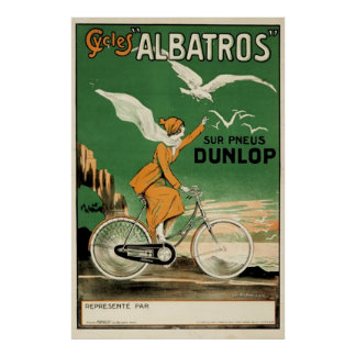 Vintage Cycles Albatros Poster