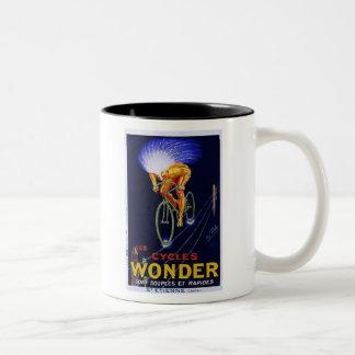 Vintage Cycles Wonder Ad Coffee Mug