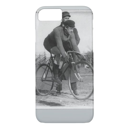 Vintage cycling race photo ipone cover