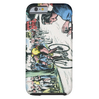 Vintage Cycling Tough iPhone 6 Case