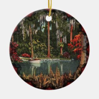 Vintage Cypress Gardens Ornament