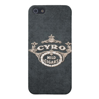 Vintage Cyro Cigar Retro Ad Label Cover For iPhone 5/5S
