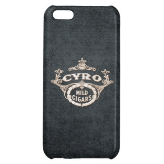 Vintage Cyro Cigar Retro Ad Label iPhone 5C Cover