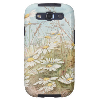 Vintage Daisies In A Field Easter Card Galaxy SIII Covers