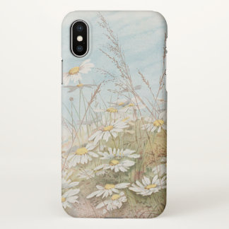 Vintage Daisies In A Field Easter iPhone X Case