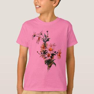 *Vintage Daisy* Flower Art T-Shirt