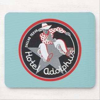 Vintage Dallas Texas Hotel Mouse Pad