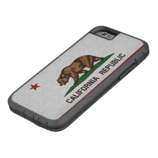 Vintage Damask Flag of California Republic Pattern Tough Xtreme iPhone 6 Case