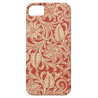 Vintage Damask Floral Red Case-Mate iPhone 5 iPhone 5 Cover