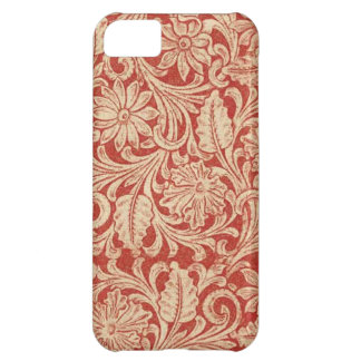 Vintage Damask Floral Red Case-Mate iPhone 5 iPhone 5C Case