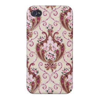 Vintage Damask iPhone 4 Cases