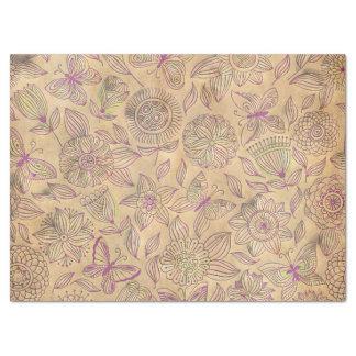 Vintage Damask Tissue Paper