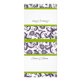 Vintage Damask Wedding Place Cards Rack Cards