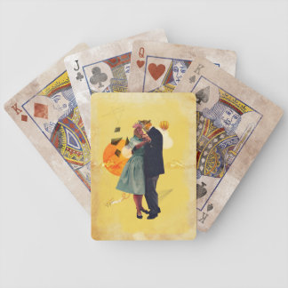 Vintage Dance Bicycle Playing Cards