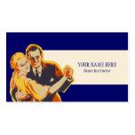 Vintage Dance Instructor Business Card Template