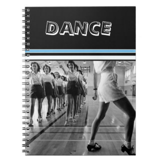 Vintage Dance One Subject Photo Notebook