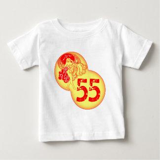 Vintage Dancer 55th Birthday Gifts Baby T-Shirt