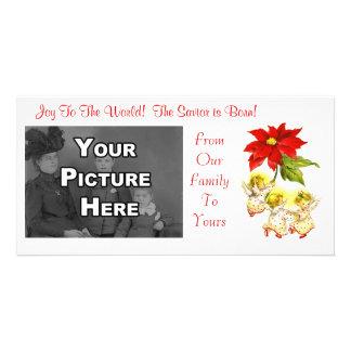 Vintage Dancing Baby Angels Photocard Card