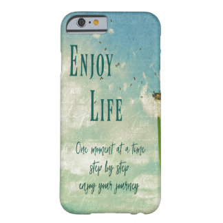 Vintage Dandelion Life Quotes Barely There iPhone 6 Case