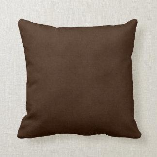 Vintage Dark Espresso Brown Parchment Template Throw Cushions