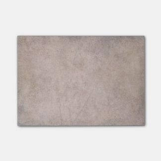 Vintage dark parchment paper post-it notes