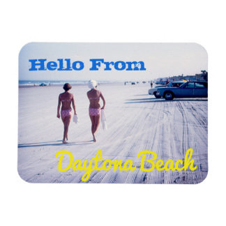 Vintage Daytona Beach Souvenir Magnet