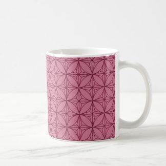 Vintage Dazzle Mug, Magenta