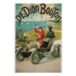Vintage De Dion Bounton Print