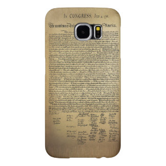 Vintage Declaration of Independence Samsung Galaxy S6 Cases