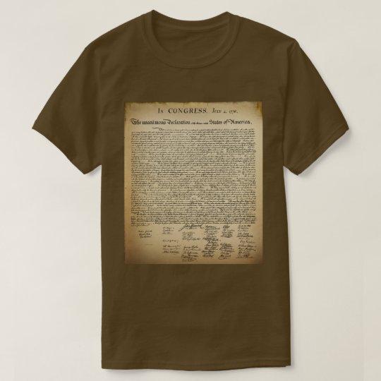 Vintage Declaration of Independence T-Shirt