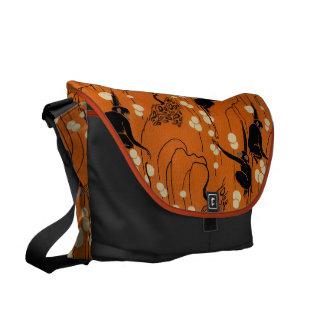 Vintage Deco Moderne Monkeys Messenger Bags