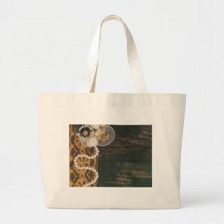 vintage decoration jumbo tote bag