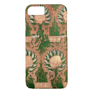 Vintage Decorative Batik Mythology Pattern iPhone 7 Case