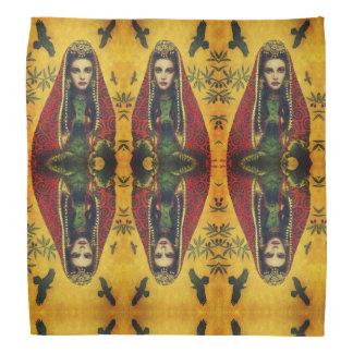 Vintage Decorative Sorceress Bandanna