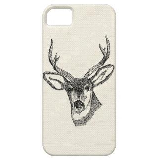 Vintage Deer iPhone 5 Covers