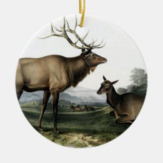 Vintage Deer No. 3 Christmas Ornament