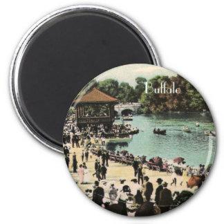 Vintage Delaware Park Magnet
