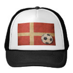 Vintage Denmark Flag Mesh Hat