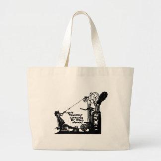 vintage dentist gifts large tote bag