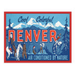 Vintage Denver Colorado Postcard