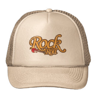 Vintage Design Hat - Rock 'n Roll