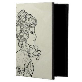 Vintage Design iPad Air Case with No Kickstand