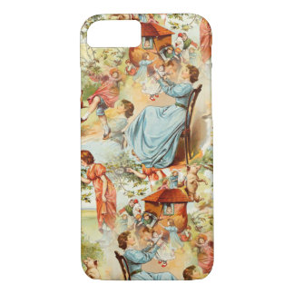 Vintage Design Old Fashioned Retro Scene iPhone 8/7 Case