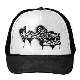 Vintage Designer Graffiti Logo Mesh Hat