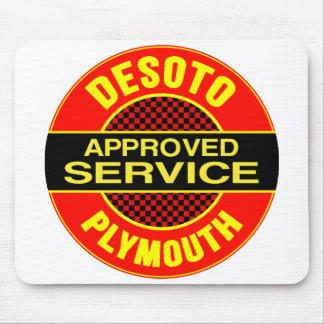 Vintage DeSoto service sign Mouse Pad